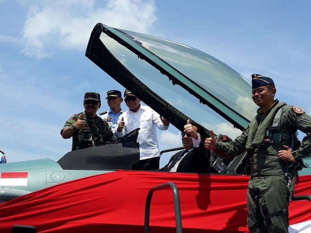 24 Pesawat F-16 Siap Amankan Wilayah Indonesia