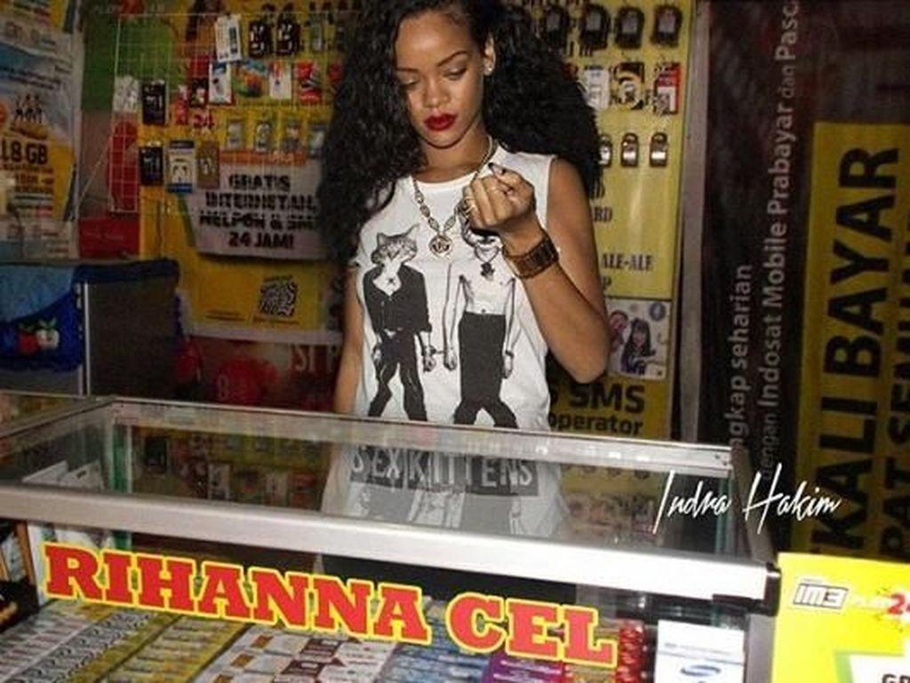 Mau Registrasi Ulang Kartu, Yuk Dibantu sama Rihanna!