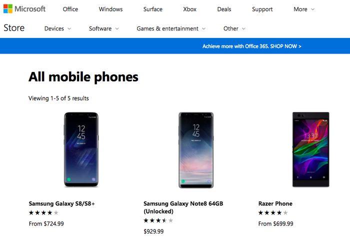 Website Microsoft. Foto: istimewa
