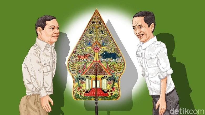 Plus Minus Jokowi-Ma'ruf Amin vs Prabowo-Sandiaga Uno