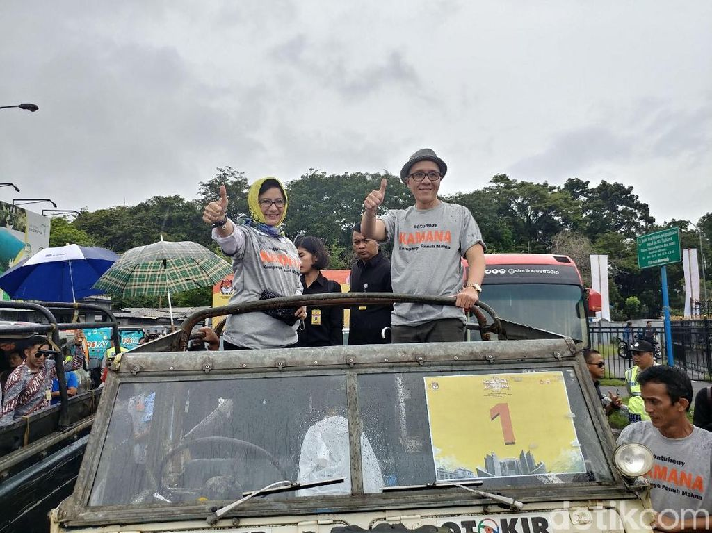 Perempuan Pekerja di Bandung Jadi Atensi Nurul Arifin-Ruli
