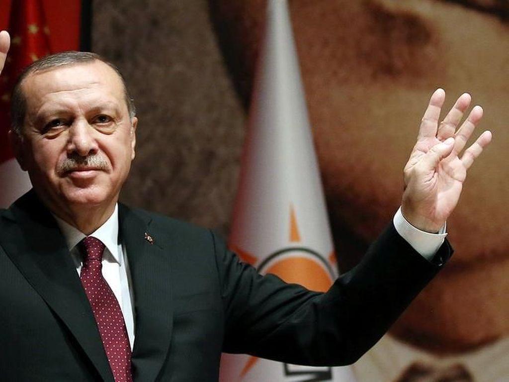 Erdogan Ingin Turki Masukkan Perzinahan sebagai Tindak Pidana