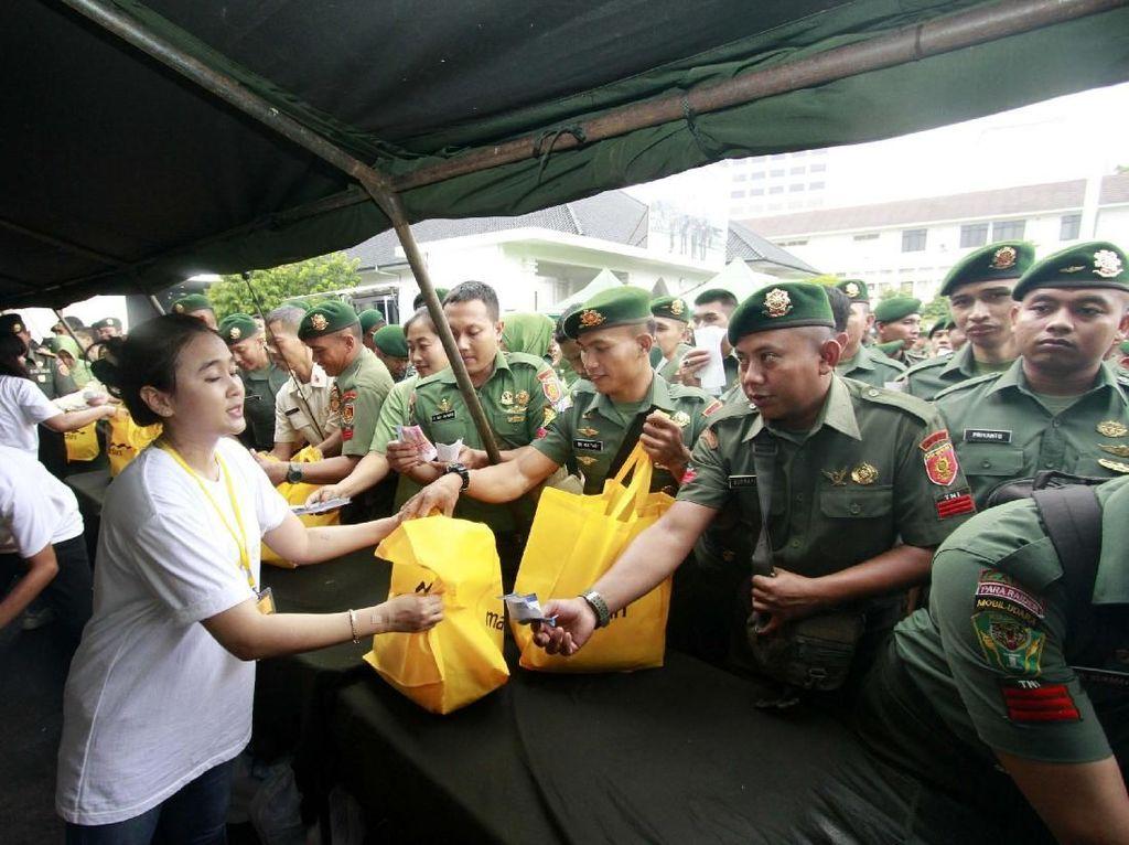 Pasar Murah untuk Prajurit Kostrad