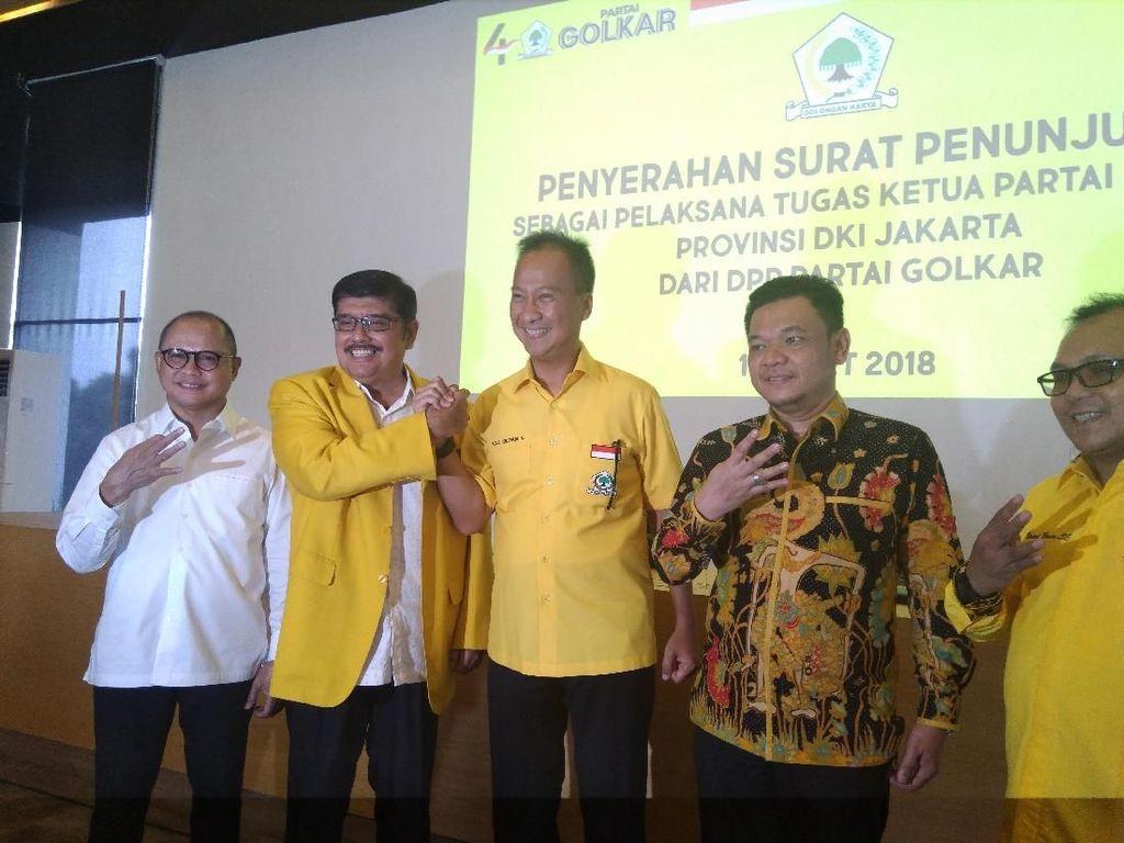 Agus Gumiwang Sah Jadi Plt Ketua Golkar DKI Gantikan Fayakhun