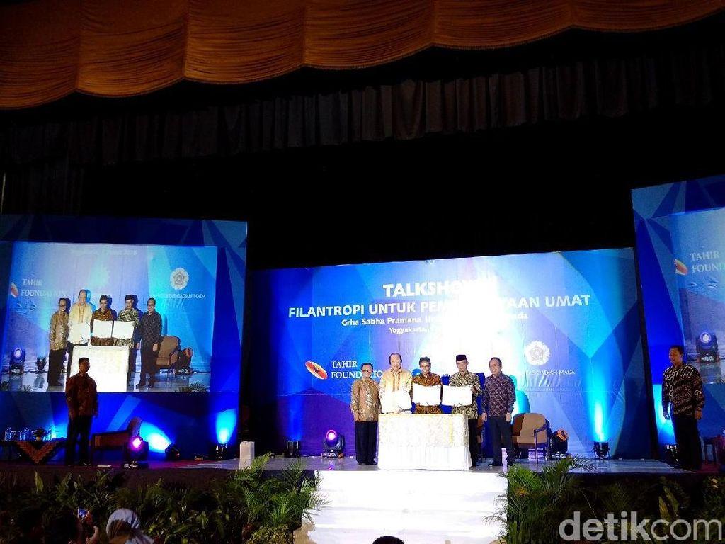 UGM, Muhammadiyah dan Tahir Foundation Kerjasama Berdayakan Umat