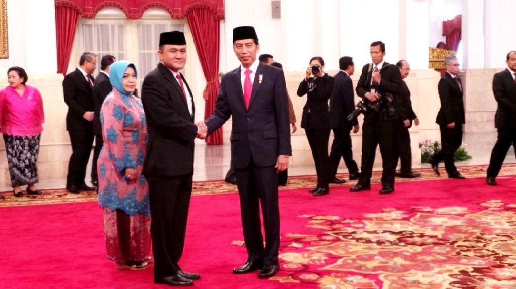 Momen Irjen Heru Eks Pejabat KPK Dilantik Jadi Kepala BNN