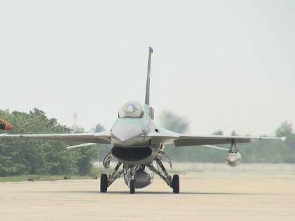 TNI AU Berhasil Usir 2 Pesawat Asing di Langit Natuna