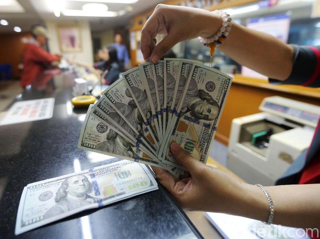 Dolar AS Melemah ke Rp 15.180