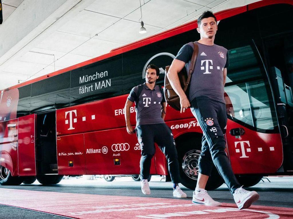 Ribut-ribut Lewandowski-Hummels dalam Latihan Bayern