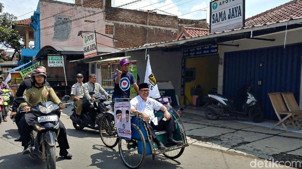 Oded Jamin Becak Boleh Beroperasi di Bandung