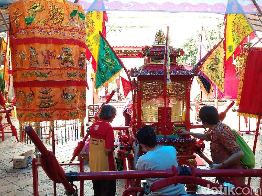 Mengintip Persiapan Perayaan Cap Go Meh di Cirebon
