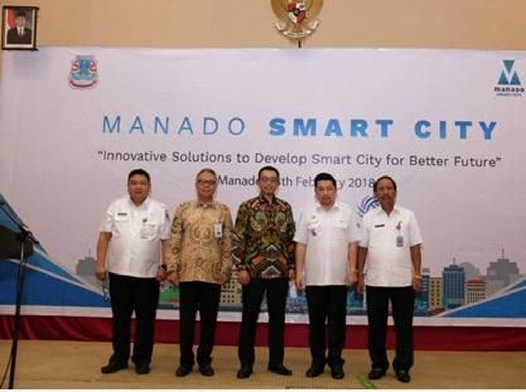 Lintasarta dan Pemkot Manado Dorong Smart City di Sulut