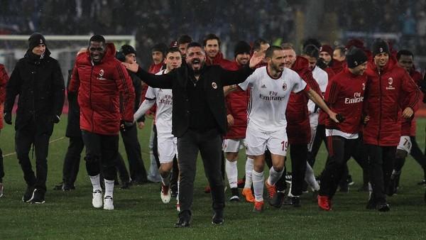 Inter Jadi Bidikan Milan Demi Dapatkan Tiket Liga Champions