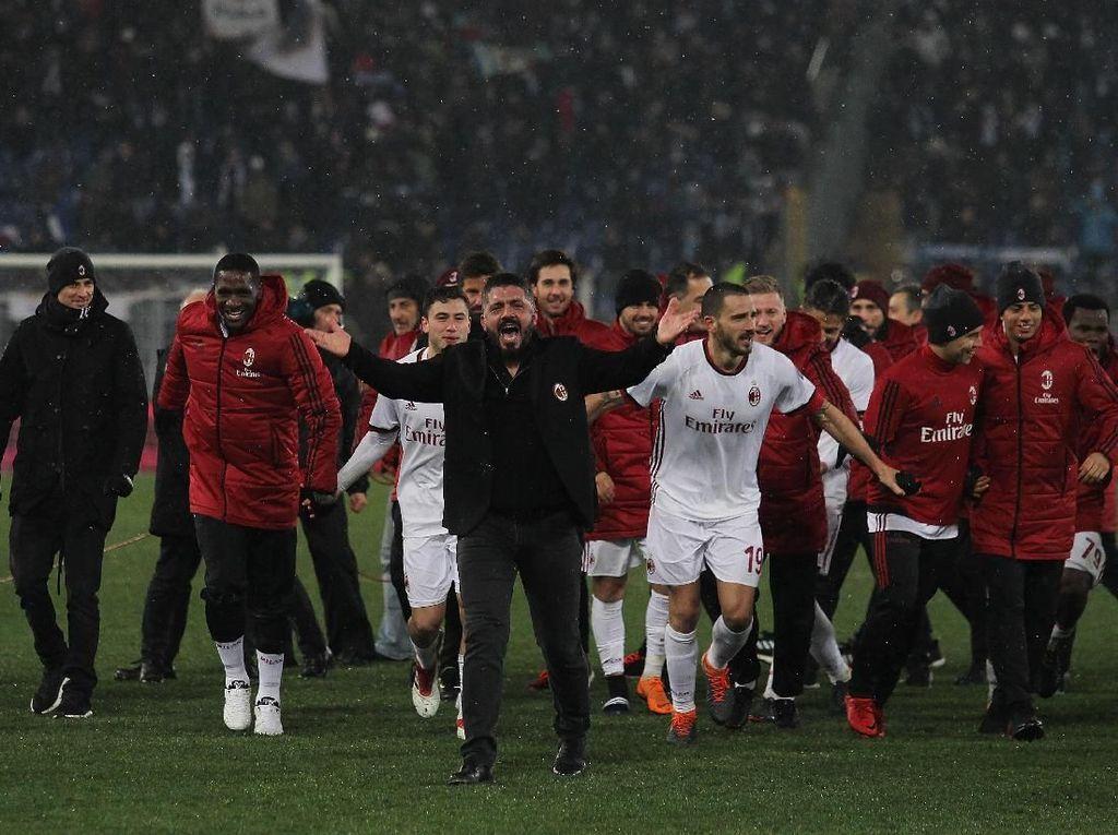Semangat Membara Milan Menatap Laga Final yang bak Piala Dunia