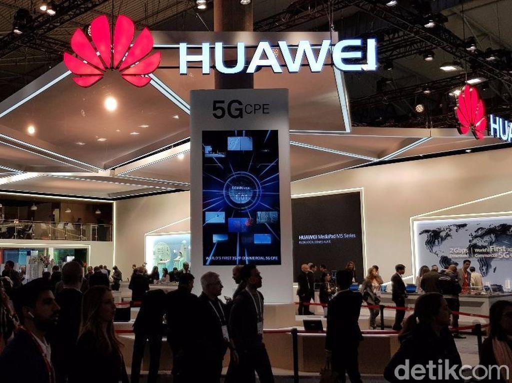 Huawei Segera Pamerkan Ponsel 5G Pertamanya