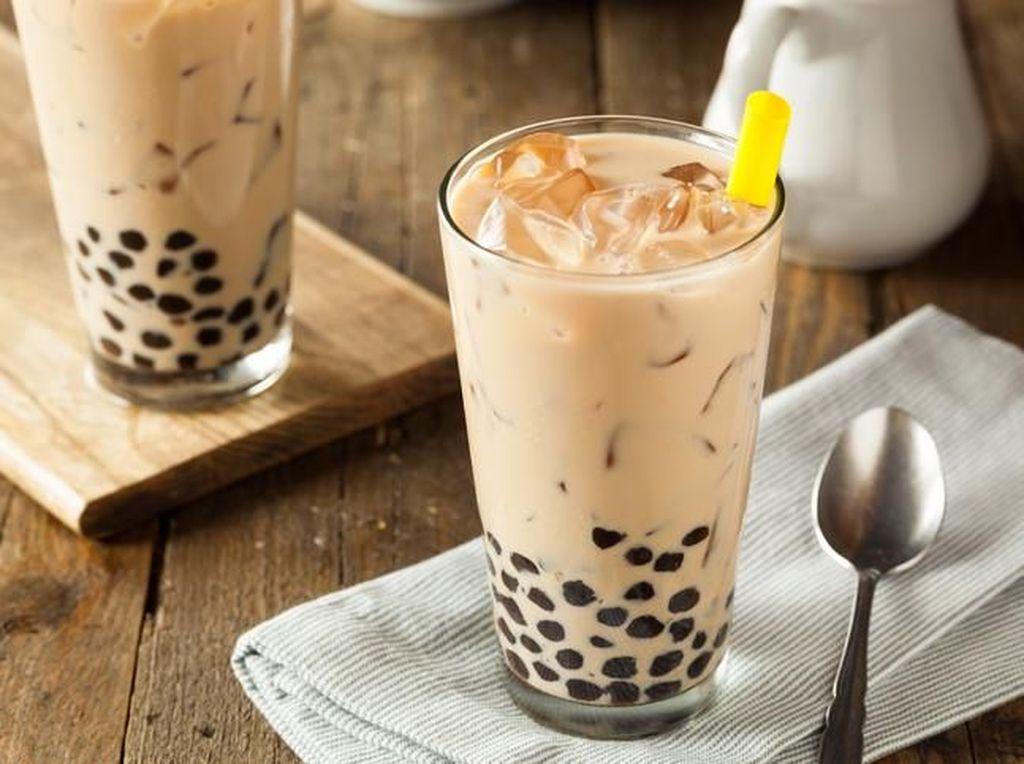 Kebanyakan Minum Bubble Tea Bisa Picu Penuaan Dini
