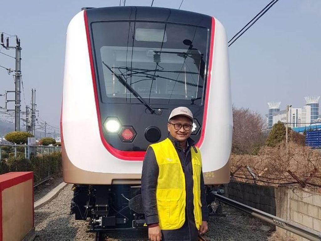 Dibuat di Korsel, Begini Canggihnya Kereta LRT Jakarta