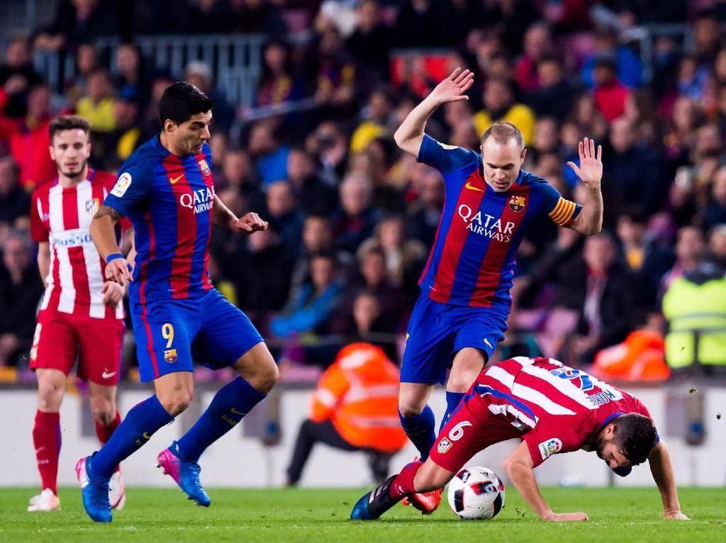 Duel Panas di Camp Nou: Barcelona vs Atletico