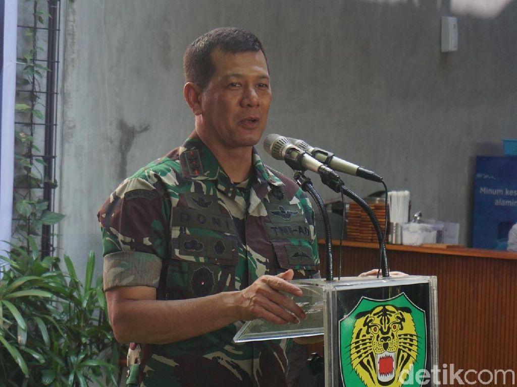 Jokowi Angkat Mayjen Doni Monardo Jadi Sesjen Wantannas