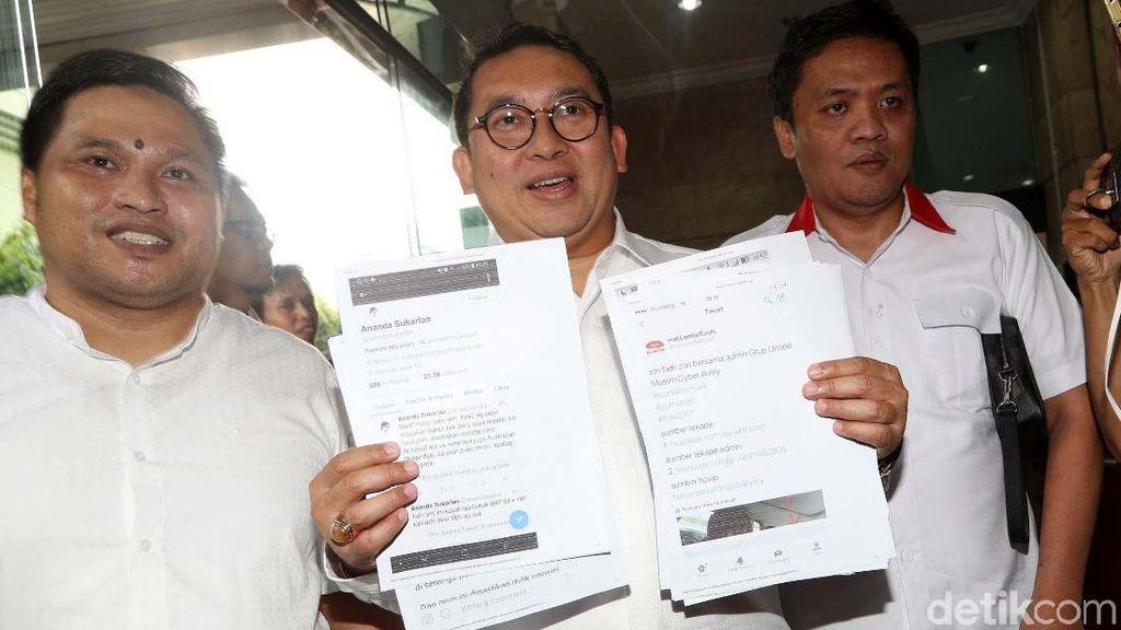 Fadli Zon Polisikan Penyebar Foto Hoax Dirinya dengan Admin MCA