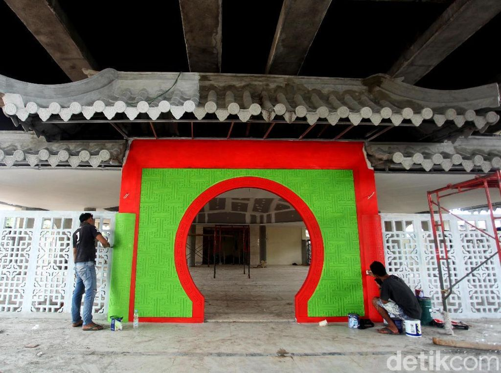 Foto: Unik, Arsitektur Musala di Tanjung Priok ini Bergaya Oriental