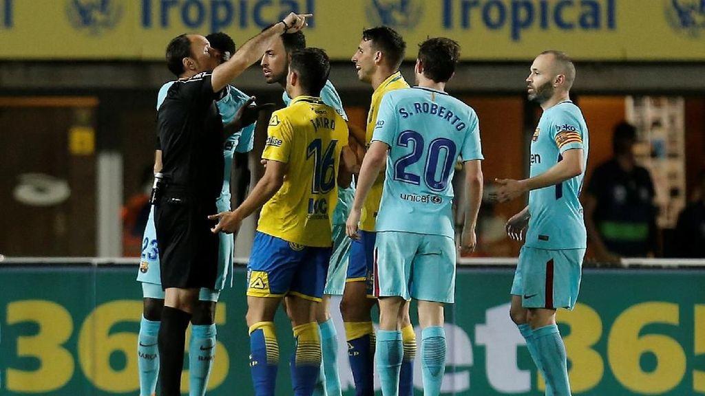 Penalti Siluman Las Palmas ketika Melawan Barca