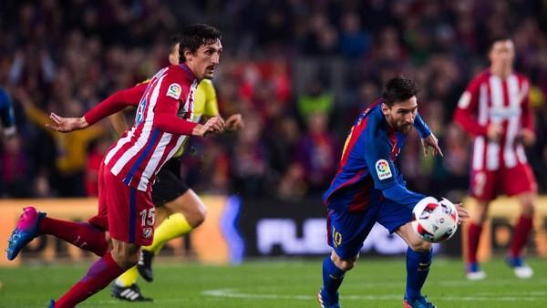 Gawang Atletico Salah Satu Favorit Lionel Messi