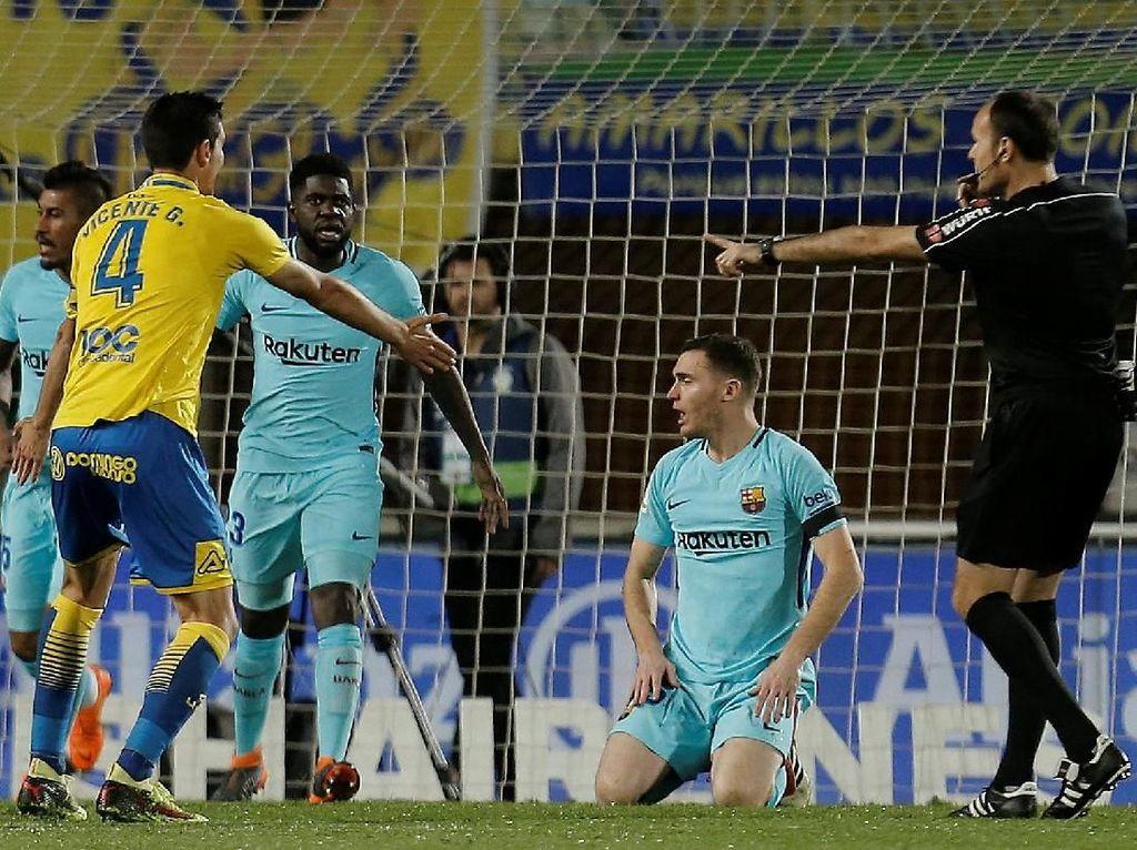 Penalti Siluman Las Palmas Menjegal Barcelona