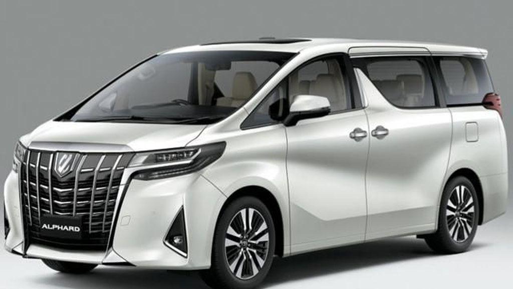 Toyota Alphard dan Vellfire Mulai Bersolek