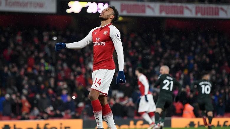Aubameyang Frustrasi Tak Bisa Bela Arsenal di Liga Europa