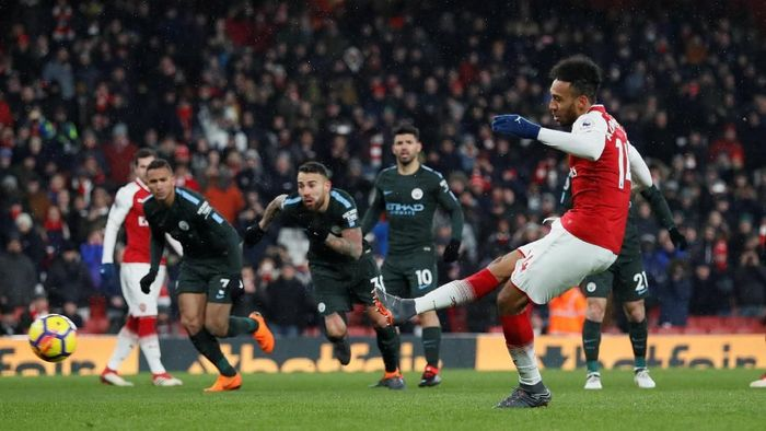 Jadwal Arsenal vs Manchester City dalam lanjutan Liga Inggris. (Foto: David Klein/Reuters)