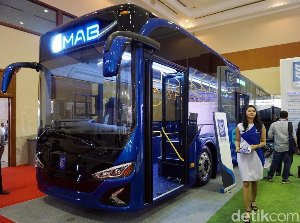 Tak Kerja Sama dengan Transjakarta, Bus Listrik Moeldoko Diuji Coba PLN Disjaya