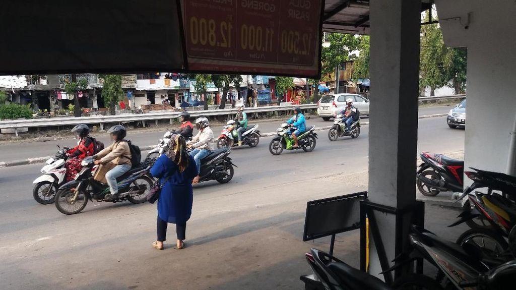 Foto: Ini Lokasi 6 Ojol Keroyok Anak Jalanan Sampai Tewas