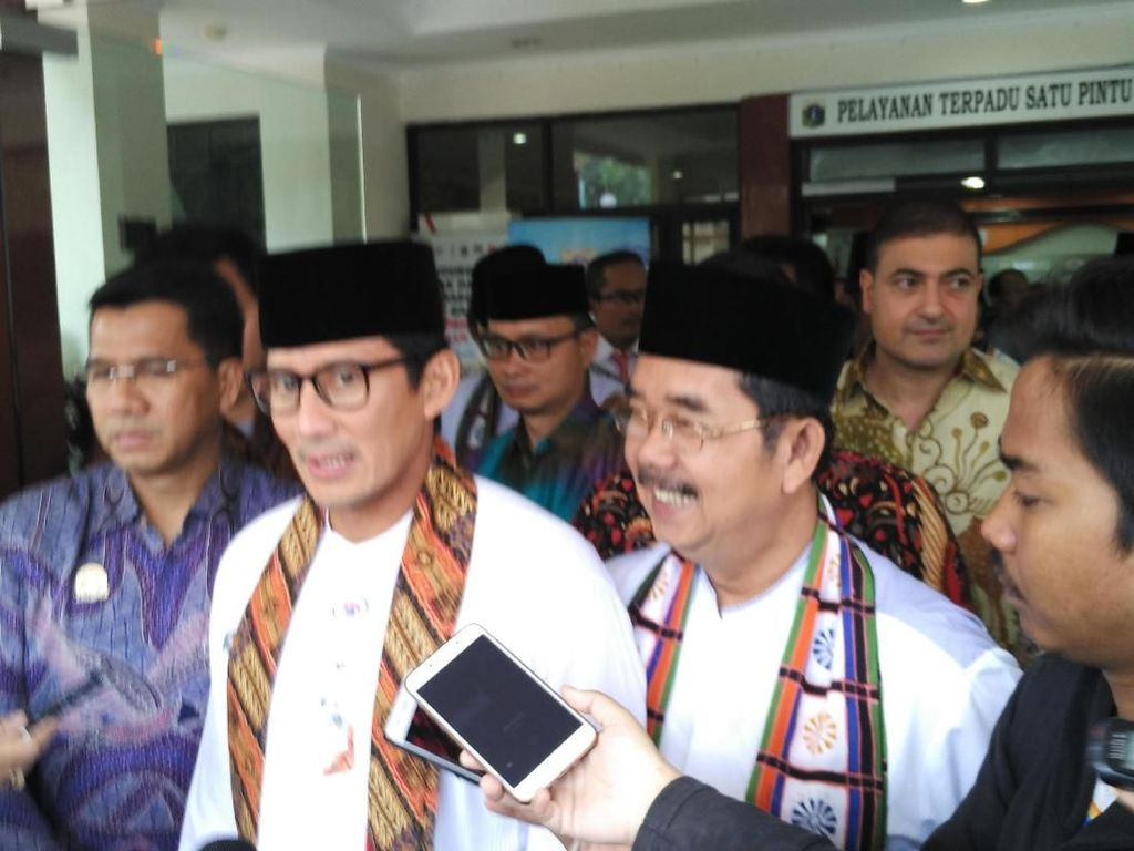 Sandiaga Ingin Pariwisata di Jakarta Berbasis Religi