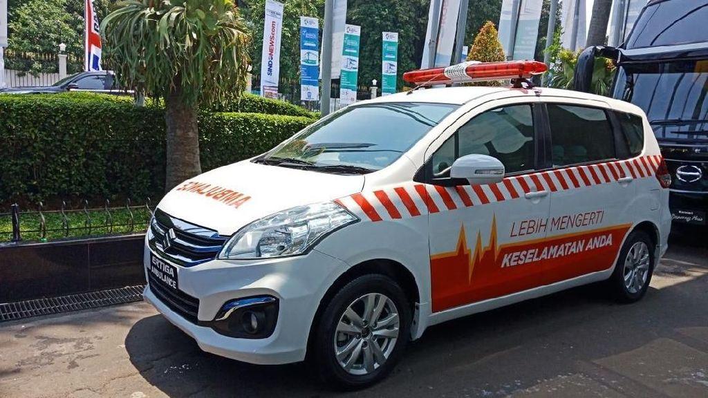Suzuki Sulap Ertiga Jadi Ambulans