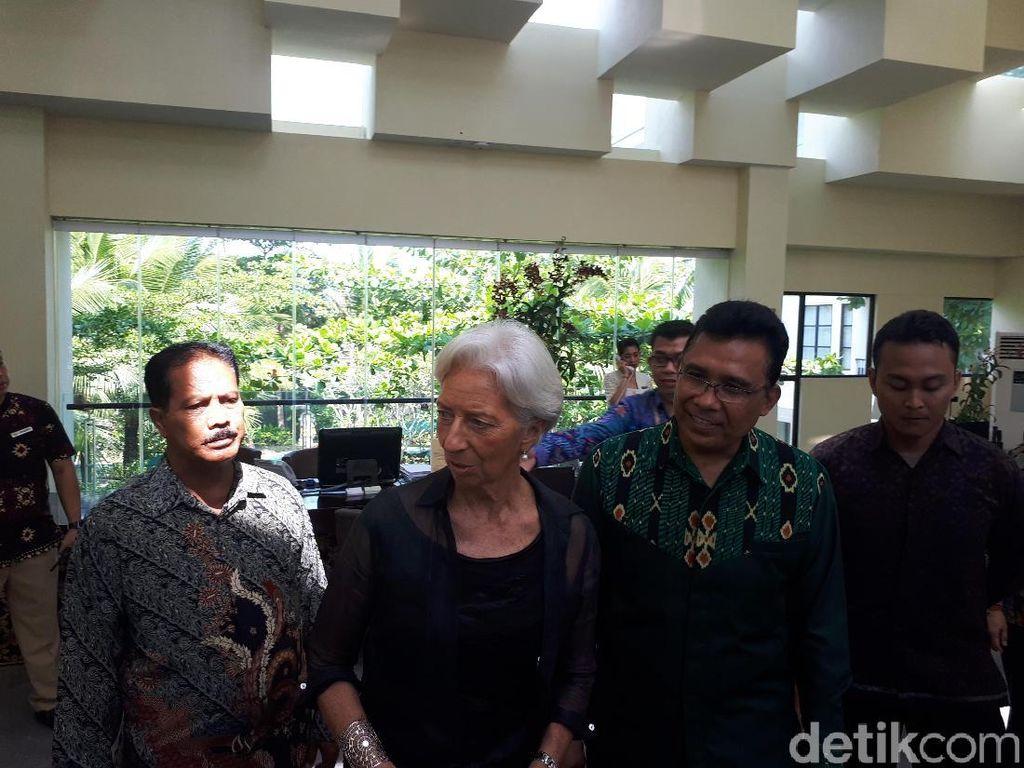 Bos IMF Cek Lokasi Rapat Menkeu dan Gubernur Bank Sentral se-Dunia