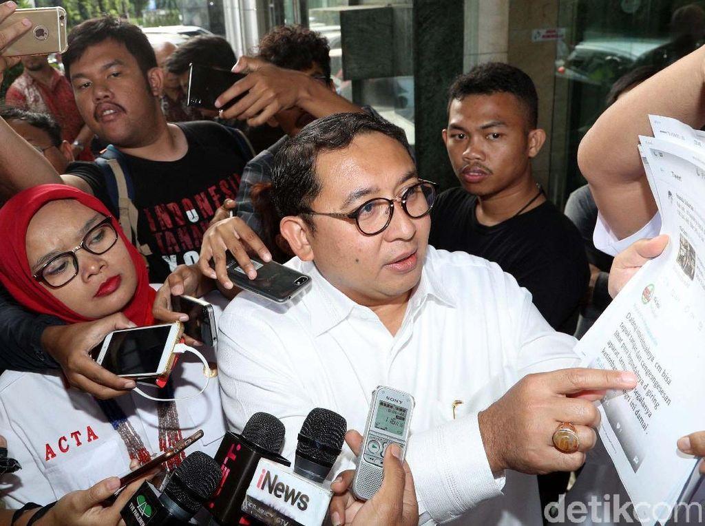 Viral Foto Hoax dengan Admin MCA, Fadli Tuding untuk Serang Prabowo