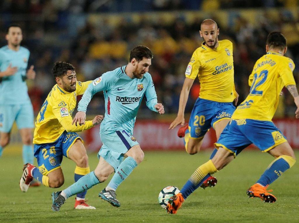 Barcelona Diimbangi Las Palmas 1-1