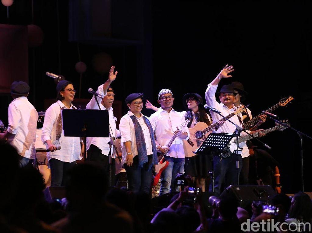 Ngamen di Konser Amal, Elek Yo Band Kantongi Miliaran Rupiah