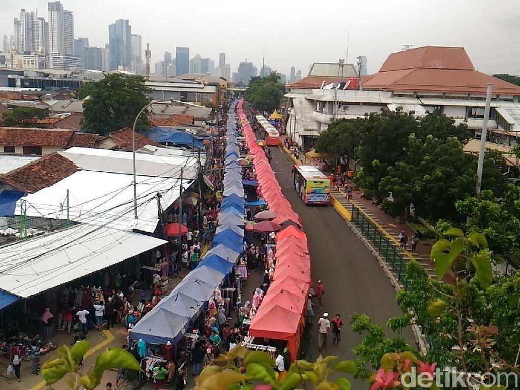 Foto: Jl Jatibaru Tanah Abang yang Diwacanakan Dibuka Lagi