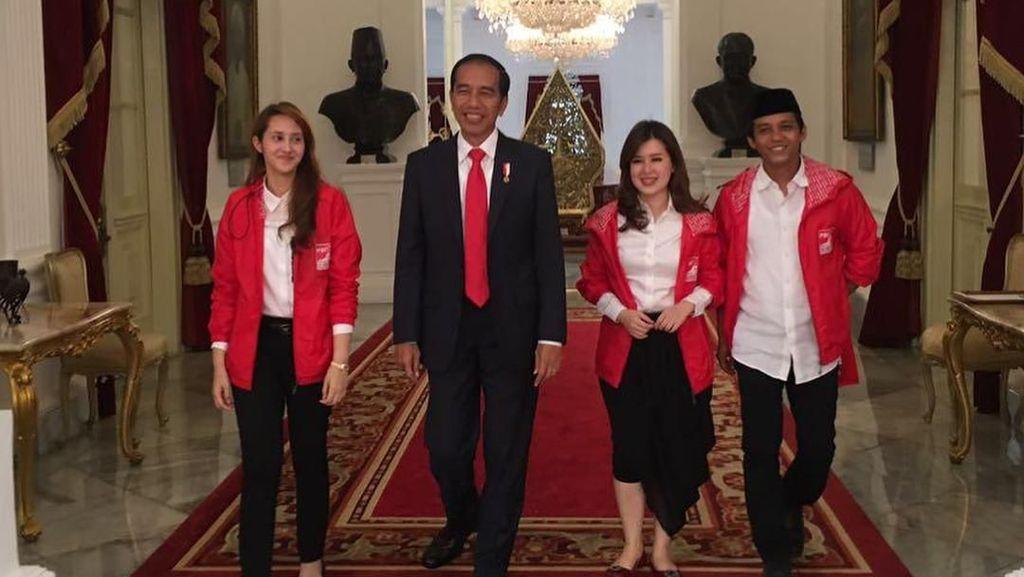 Melihat Lagi Pertemuan PSI dengan Jokowi di Istana yang Dikritik