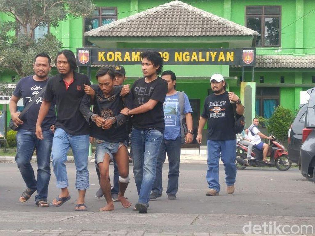 Ini Dia Tampang Tersangka Pembunuhan Ibu Rumah Tangga di Semarang