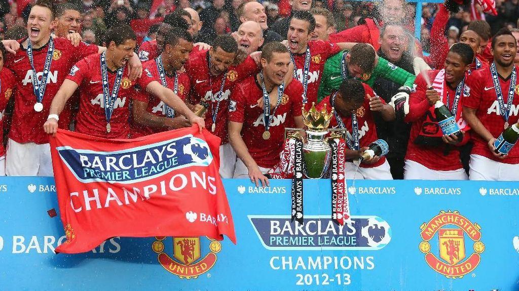Delapan Tim Teratas di Daftar Jawara Inggris