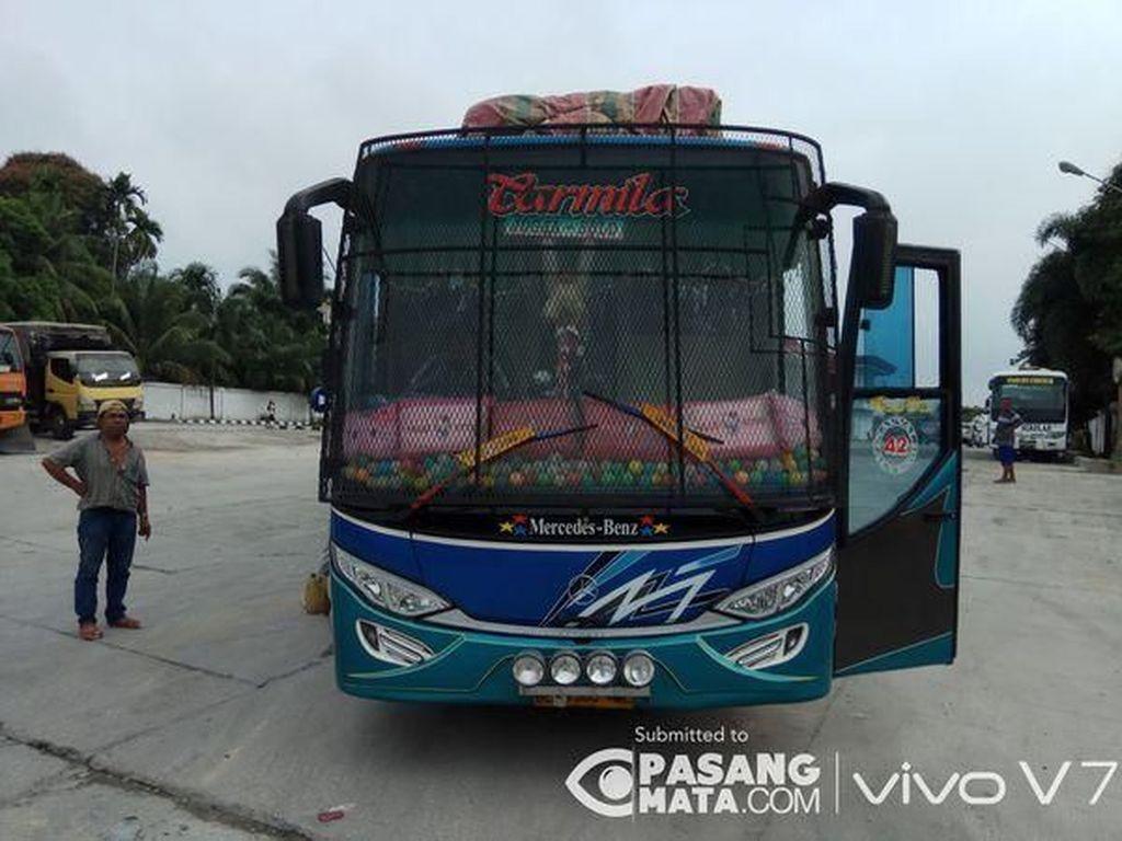 Bus Sumatera Dikawatin, Ini Penyebabnya