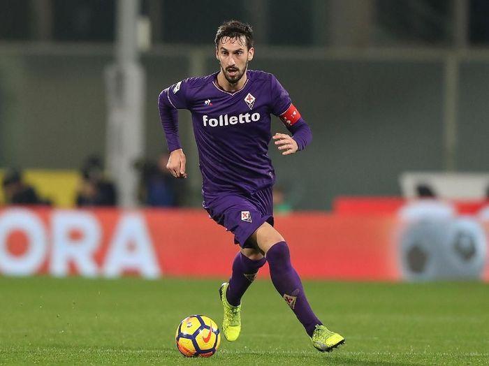 Pemain timnas Italia dan Fiorentina, Davide Astori. (Foto: Gabriele Maltinti/Getty Images)