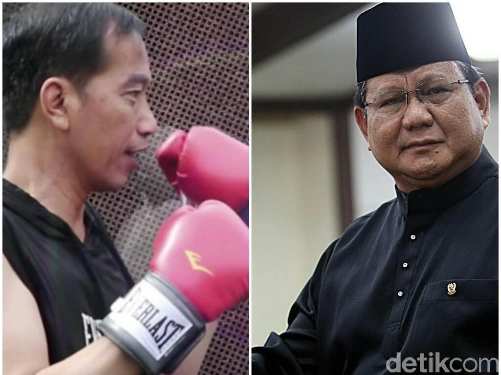 Jokowi-Maruf vs Prabowo-Sandiaga di 2019