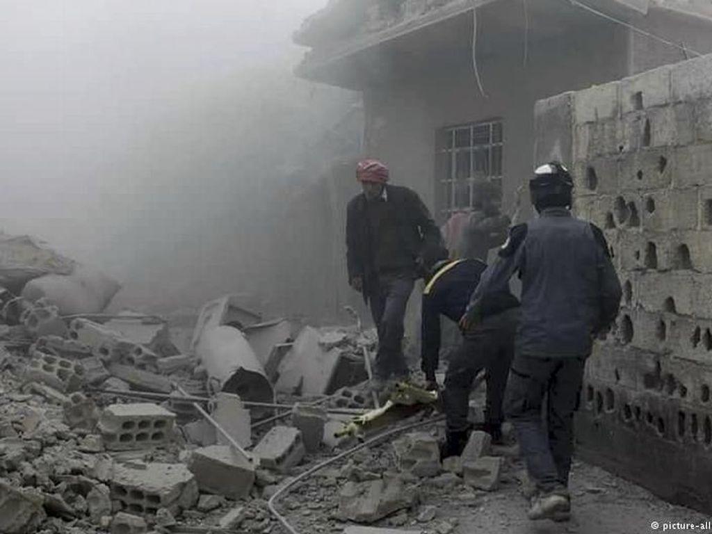 Puluhan Ribu Warga Ghouta Terjebak Perang