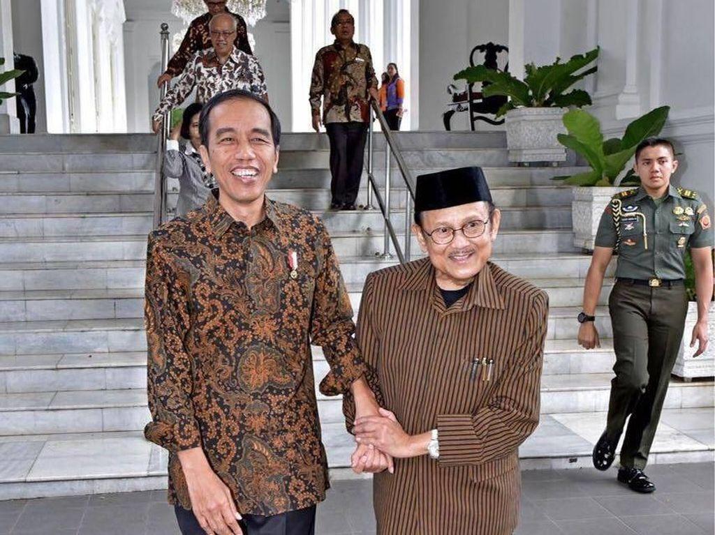 Jokowi Sebut Habibie dan Ainun Contoh Pasangan Romantis