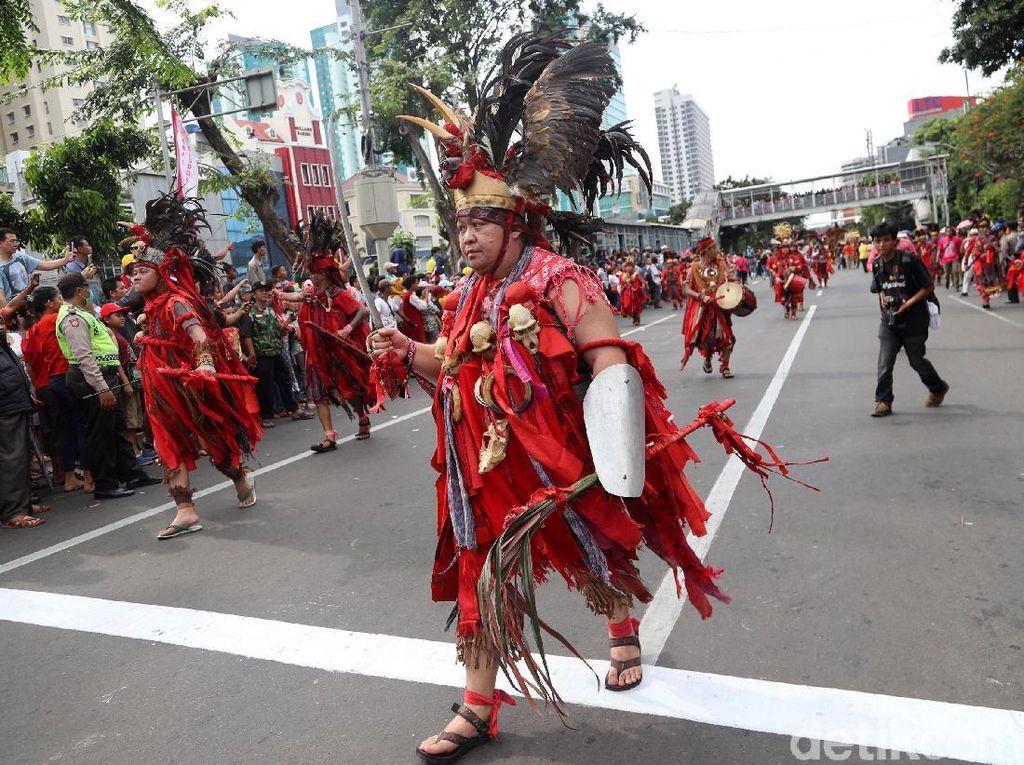 Foto: Meriahnya Karnaval Cap Go Meh di Glodok