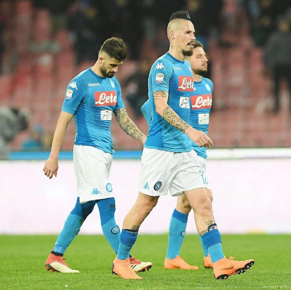 Kini Tertinggal dari Juventus, Napoli Masih Yakin Bisa Raih Scudetto